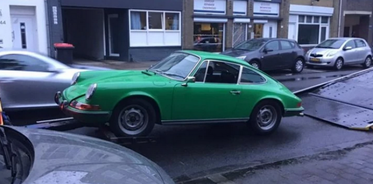 Gestohlener 1972er Porsche 911 geortet und sichergestellt